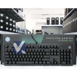 HP Pavilion Gaming Keyboard 500 USB Black GE