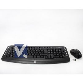 HP Wireless Classic Desktop Keyboard and Mouse USB Black US