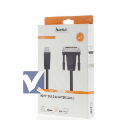 HAMA HDMI to DVI-D Cable 1.5m