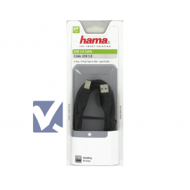 HAMA USB 3.0 A to B Cable 1.8m