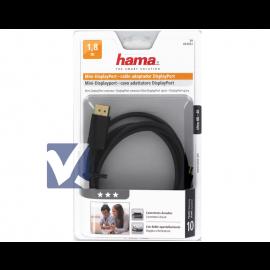 HAMA Mini DisplayPort to DisplayPort Cable 1.8m